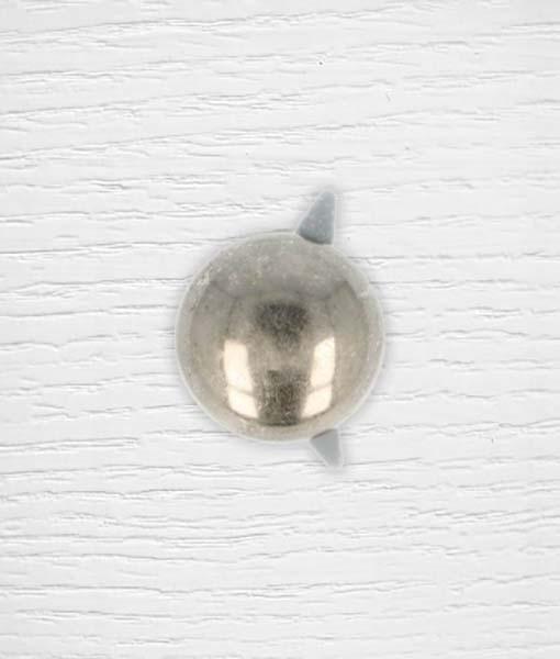 Pied de sac argent foncé 20 mm