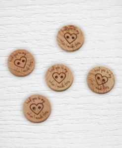 Boutons Had you in my heart Lidia Crochet Tricot