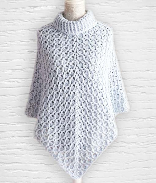 Pashmina ouvrage 1 Lidia Crochet Tricot
