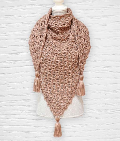 The Queen ouvrage 4 Lidia Crochet Tricot