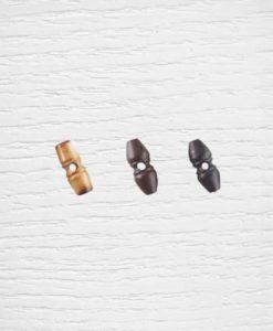 Boutons buchette bois 2,5 cm Lidia Crochet Tricot