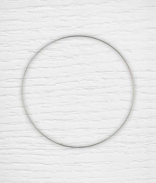 Cercle métallique attrape rêves Lidia Crochet Tricot