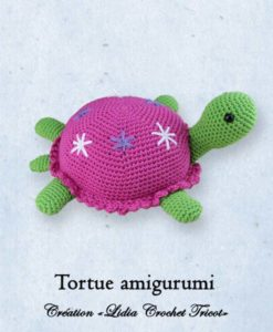 Tortue amigurumi (tutoriel Lidia Crochet Tricot)