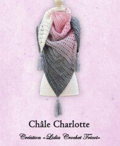 Châle Charlotte (tutoriel Lidia Crochet Tricot)